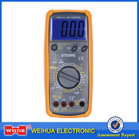 Automotive Multimeter DT8200Q with Buzzer Temperature with Duty Cycle with Dwell Angle with Tach