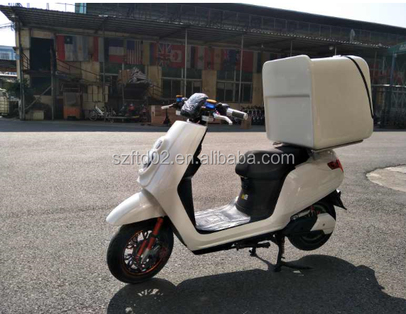 electric motorcycle for the food delivery famous KFC and Mcdonald's fast food motorcycle
