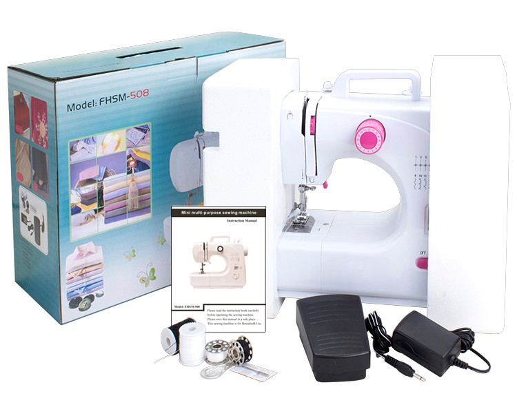 FHSM-508 household zigzag lock stitch overlock typical tailor sewing machine