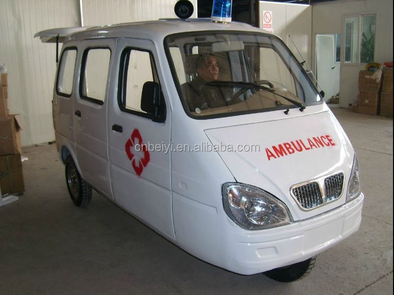175CC cheap three wheel ambulance manufacturer motorcycle ambulance tricycle factory rhd/lhd foton transport ambulance with CCC
