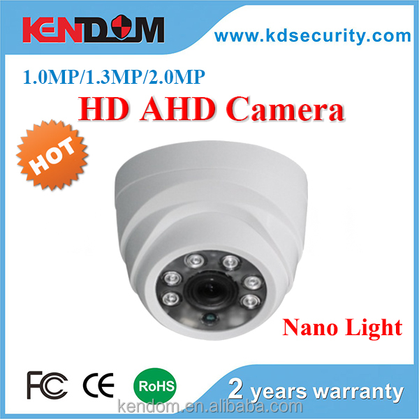 NEW Nano Lights AHD 2MP 1080P Mini Dome Camera IMX322 SONY Chipset AHD Camera CCTV Dome Security