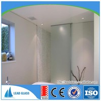 12mm tempered glass panels for bathroom door with IGCC certification