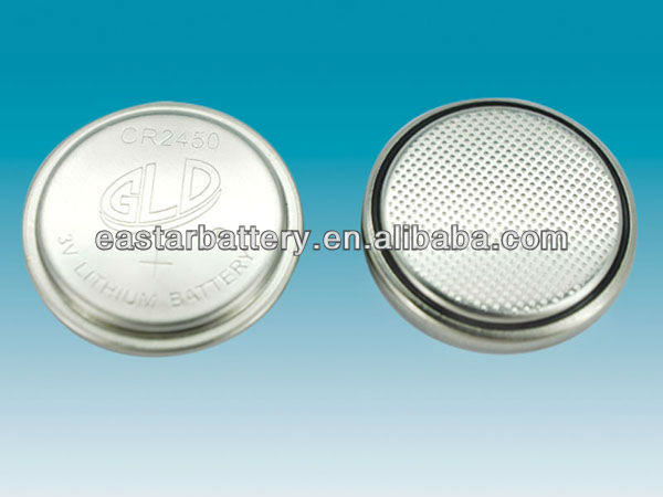 CE RoHS approved cr2032 battery cr2045 button cell for medical and home