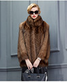 Luxury Real Sable Fur Coats Jacket for Women