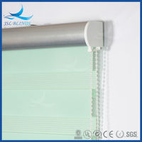 Decorative Window Covering Chain Zebra Roller Blinds