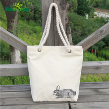 Bulk unique reusable canvas shopping bags