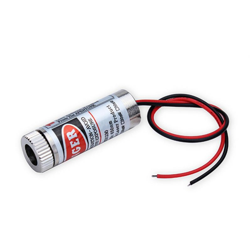 650nm 5mW Red Laser Cross Line Module Focus Adjustable Laser Head 5V