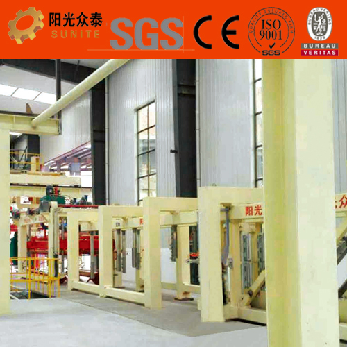 Shandong Linyi China low cost Autoclaved Aerated Concrete aac block machine for sales