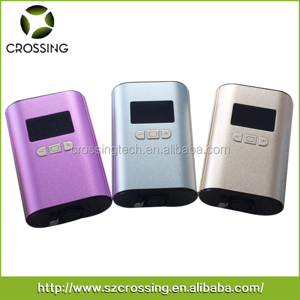 Colorful digital temperature controller box mini h-enail e-nail for electronic cigarette smoking bong wholesale