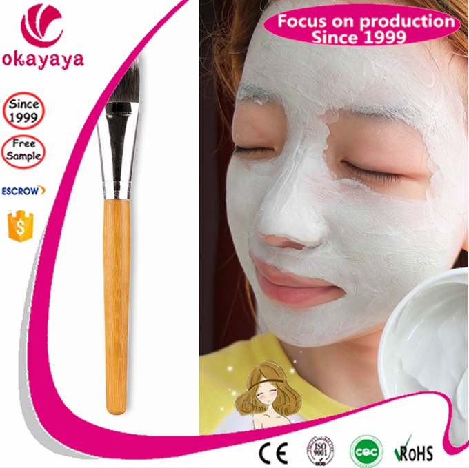 Wholesale custom cosmetic nylon facial mask applicator face brush