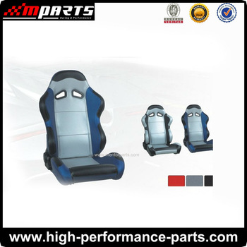 Racing Car Seat with Fully cecline and tilt adjustment