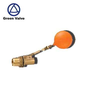 Green Guten-top Forged brass float ball valve for Water Tank