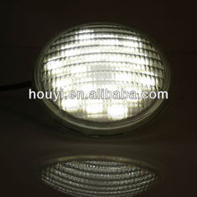 houyi glass 18x3W underwater led lights swim spa/pond/fountain par56 3500lm ip68 garden fountain parts