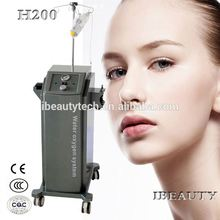 Hot sell !! Water Oxygen jet facial care /Wrinkles removal machine H200