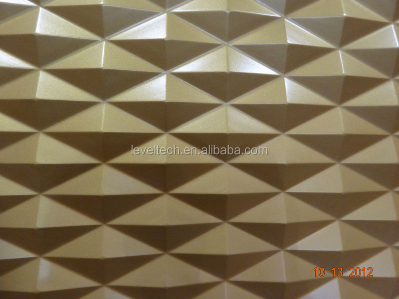 3D MDF Wave Panels Sculpture Wall Decorative Board