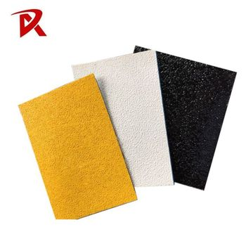 Heating glass beads reflective adhesive thermoplastic road tape