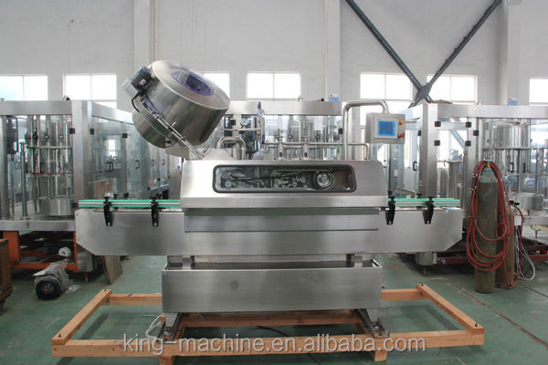 twist off cap vacuum capping machine