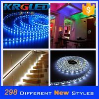 Waterproof rgb 5050 led strip lights with remote controller flashing led strip light