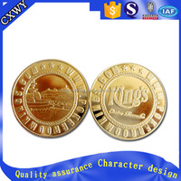 custom wedding decoration gift gold silver coins