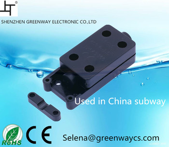 National brand Shenzhen metro used 2pin 3pin 9A 250VAC T100 waterproof junction box
