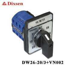 IP20 voltmeter selector switch