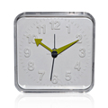 Retro Small Square Plastic Alarm Clock
