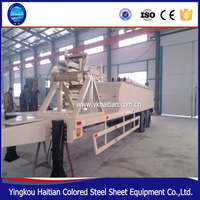 Color Steel Plate Metal Roof Arch Bending Machine Arch Building Panel Forming Machine
