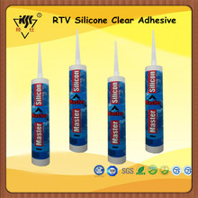 RTV Silicone Clear Adhesive/Silicone Gel Adhesive/Silicone Adhesive For Metal