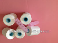 sewing thread 100% polyester slub polyester yarn