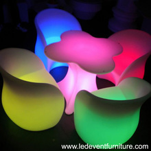 16 color changing bettery operated power color changing illuminated led bar table and chair lighting glow furniture