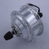 Shengyi 180w brushless geared electric bicycle hub motor for front wheel(DGW07-FA)