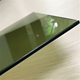 China manufacturer 4mm 5mm 6mm 8mm dark green color reflective tempered safety glass