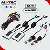 Long lifetime 3000k-30000k 12v/24v 35w 55w 75w 100w electric car conversion kit