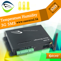 Temperature Humidity 3G SMS RS232/RS485 for Android phone client data logger