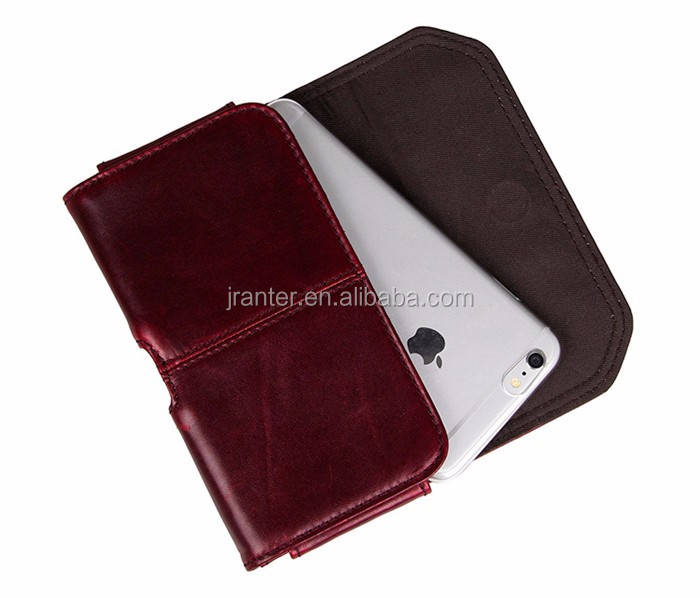 The Fashion Style Belt Clip Case for iPhone 6 Custom Leather Belt Pouch Mobile