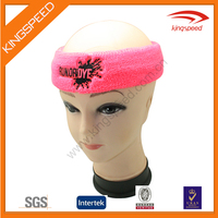 Wholesale Cheapest Comfy Cotton Terry Cloth Flexible Girls Hairband