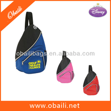 Fashion Colorful 600D Polyester Sling Bag/ Sports Backpack /Promotion Backpack