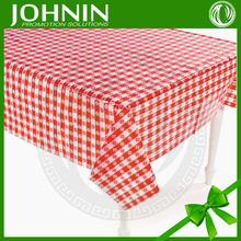 high quality wholesale with your logo printed plastic table cloth