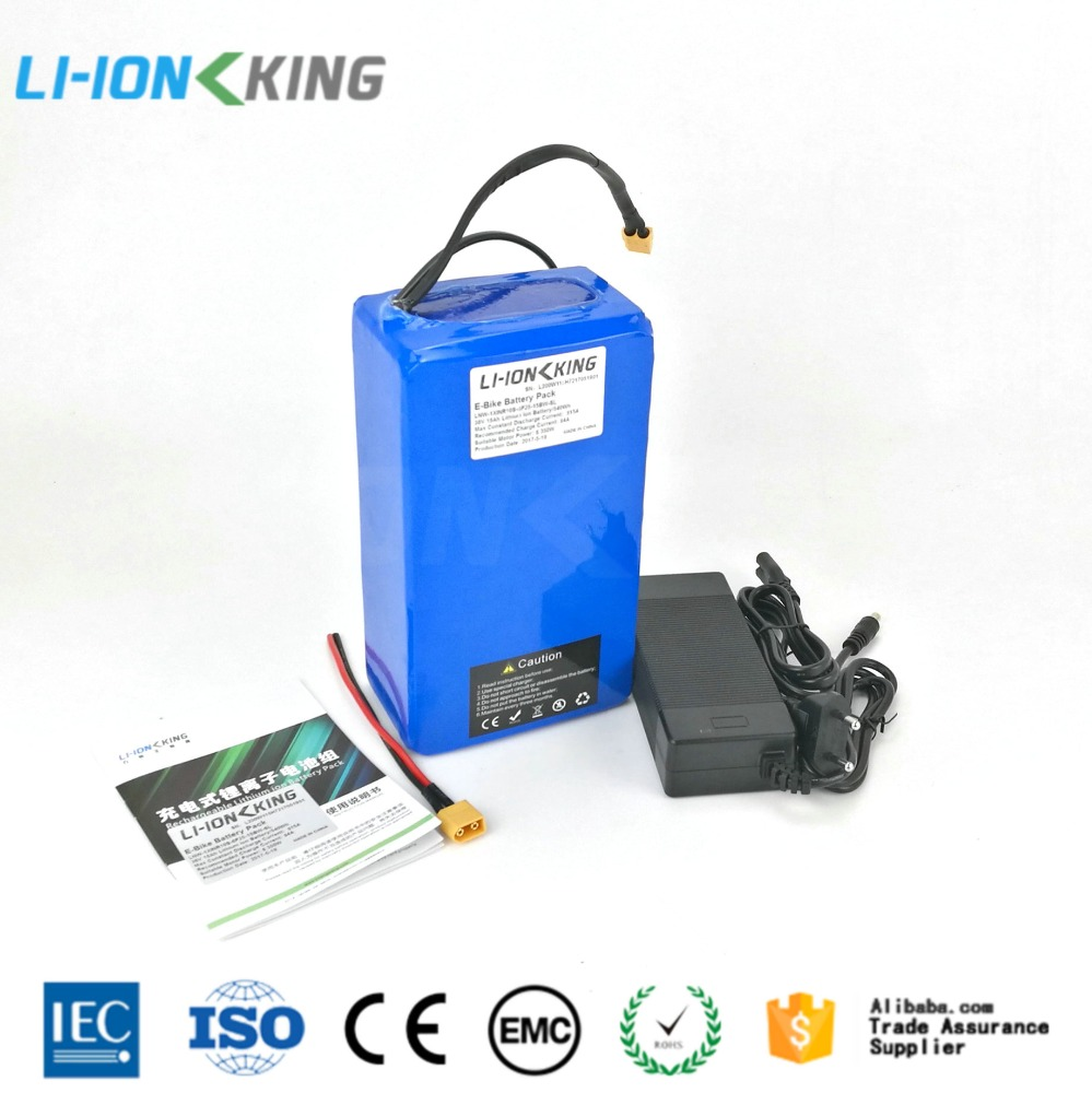 LI-ION KING 250W 36v/16ah lithium battery pack electric bicycle 36v 16Ah