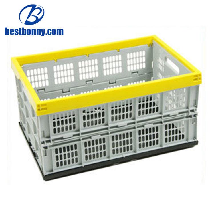 PP Plastic folding fruit basket picnic basket
