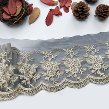 fashion lace trim designs embroidery lace trim