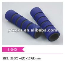 2 Colors striated handle grip tube