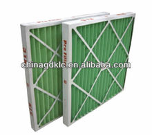cardboard frame pleated air conditioning filters for HVAC