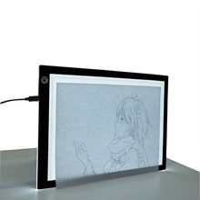 A4 LED Ultra-thin Light Tracer Art-craft Tracing Light Pad Light Box - 14.2*9.5 inch