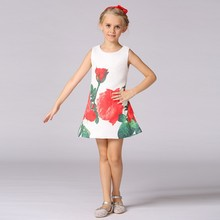 Frock Design For Baby Girl Kid Fashion Wear Summer Oem Quality Dress Children Casual dress L-113