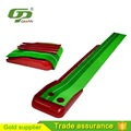 Portable mini golf office golf putting green set