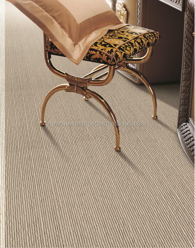 Natürliche bahnen rutschfeste latexrücken sisal teppich