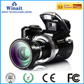 "Telescopic Lens Digital Camera DC-510T dslr camera with 2.4""TFT display professional video camera digital full hd 1080p camera"