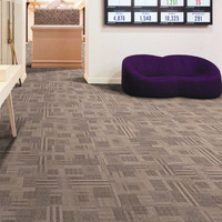 Soundproof carpet floor tiles with customized design