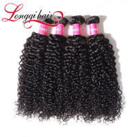 Cheap Fusion Hair Extension 6A Different Types Of Curly Hair Virgin Brazilian Human Hair
